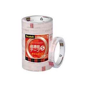 その他 (業務用50セット) スリーエム 3M 超透明テープS BK-15N 工業用包装10巻 ds-1736042