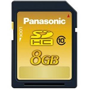 その他 (業務用10セット) Panasonic(パナソニック) メモリーカード 8GB RP-SDWA08GJK ds-1736933