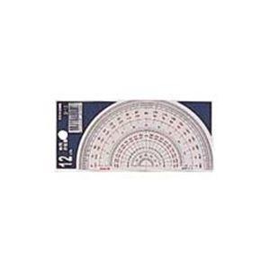 その他 (業務用200セット) コンサイス 半円分度器 S-12 12cm ds-1737021
