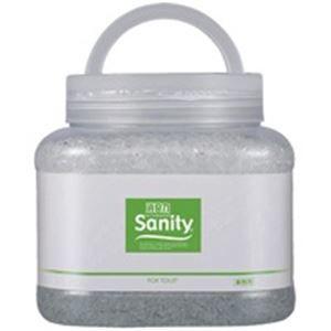 その他 (業務用30セット) エステー サニティー 消臭剤1.7kg トイレ森林の香 ds-1738488