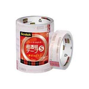 その他 (業務用50セット) スリーエム 3M 超透明テープS BK-24N 工業用包装5巻 ds-1739627