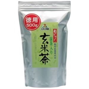 その他 (業務用30セット) 大井川茶園 徳用抹茶入り玄米茶500g袋 ds-1739843