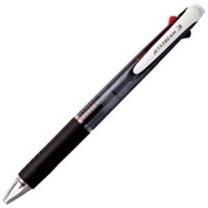 その他 (業務用100セット) 三菱鉛筆 多色ボールペン/ジェットストリーム 3色 【0.7mm】 油性 黒・赤・青 SXE340007.24 黒 ds-1740226