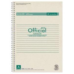 その他 (業務用200セット) アピカ オフィシャルリングノート FSWE4A B5 A罫 ds-1741465