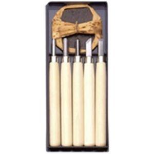 その他 (業務用50セット) 義春刃物 マルイチ彫刻刀 R-5 プラケース5本組 ds-1741666