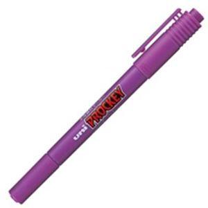 その他 (業務用300セット) 三菱鉛筆 水性ペン/プロッキーツイン 【細字/極細】 水性顔料インク PM-120T.12 紫 ds-1743000