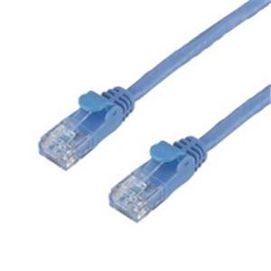 その他 (業務用10セット) エレコム(ELECOM) LANケーブルCAT6 3mブルー5本 LD-GP/BU3/C ×10セット ds-1743222