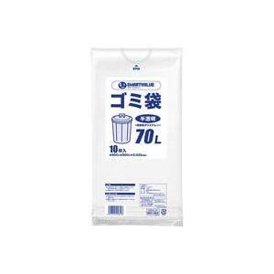 その他 (業務用100セット) ジョインテックス ゴミ袋 LDD半透明 70L 10枚 N209J-70 ds-1743985