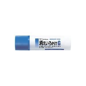 その他 (業務用100セット) トンボ鉛筆 スティックのり消えいろピット PT-GC ds-1744917