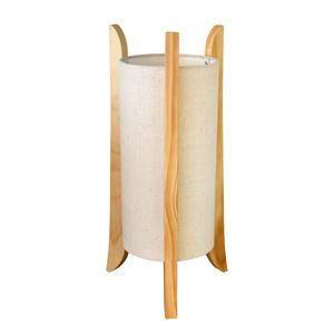 その他 テーブルライト(卓上照明器具) ファブリック×天然木 ELUX(エルックス) TUBO Table ナチュラル 【電球別売】 ds-1748108
