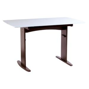 その他 【単品】伸長式ダイニングテーブル/バタフライテーブル 【幅90cm/120cm】 ホワイト  木製 スライドタイプ ds-1748494