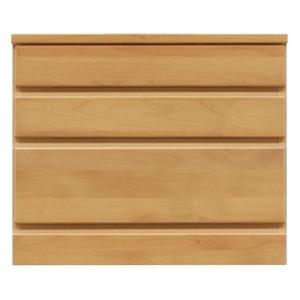その他 3段チェスト/ローチェスト 【幅60cm】 木製(天然木) 日本製 ナチュラル 【完成品】 ds-1752857