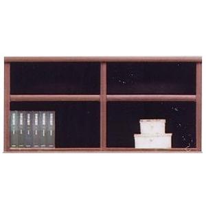 その他 上置き(オープンラック用棚) 幅97cm 木製(天然木) 棚板付き 日本製 ブラウン 【Glacso2】グラッソ2 【完成品】【玄関渡し】【代引不可】 ds-1753122