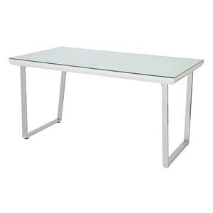 その他 あずま工芸 ダイニングテーブル 幅135cmガラス天板 GDT-7691 ds-1754114