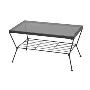 その他 あずま工芸 リビングテーブル 幅75cm GLT-2309 ds-1754121