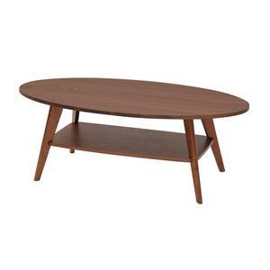その他 あずま工芸 リビングテーブル 幅110cm ダークブラウン WLT-2140 ds-1754222