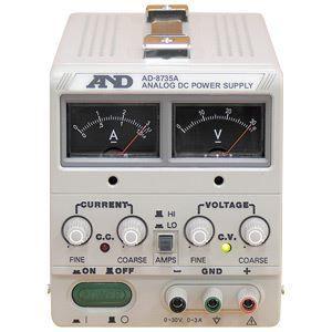 その他 A&D(エーアンドデイ)電子計測機器 直流安定化電源(30V、3A)AD-8735A ds-1747296