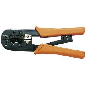 その他 (まとめ)サンワサプライ かしめ工具(ラチェット付き) HT-568R【×2セット】 ds-1756406
