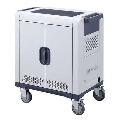 サンワサプライ ノートパソコン・タブレットAC充電保管庫(24台収納)【沖縄・離島配達不可】 CAI-CAB48