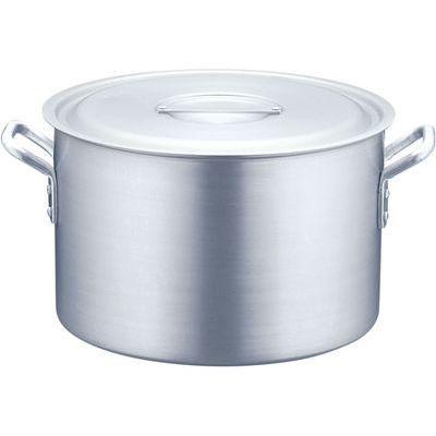 【驚きの価格が実現!】 TKG (Total Kitchen Goods) 半寸胴鍋アルミニウム(アルマイト加工)((目盛付)TKG 54) AHV6254, インドサラサの店 30a5ee94