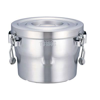 その他 18-8高性能保温食缶(シャトルドラム) ASYE701