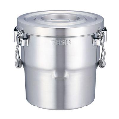その他 18-8高性能保温食缶(シャトルドラム) ASYE702