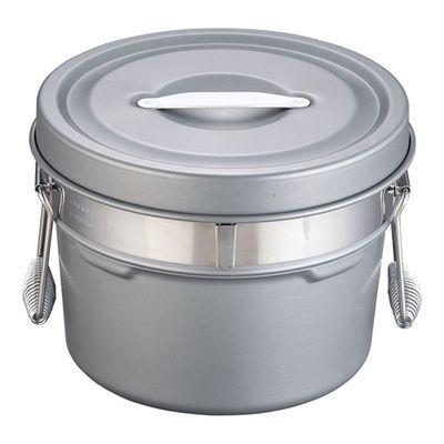 その他 段付二重食缶(内外超硬質ハードコート) ASY58245