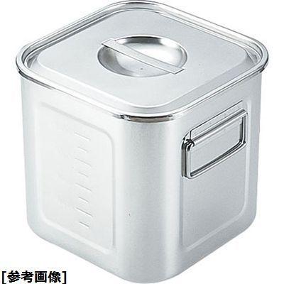 遠藤商事 SAモリブデン深型角キッチンポット(目盛付(手付) 33) AKK05033