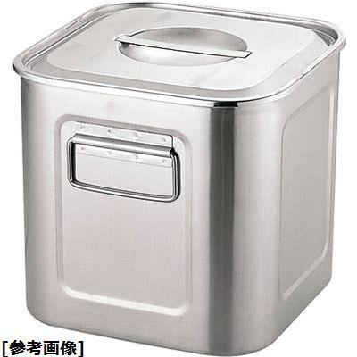 ユキワ エコクリーンUK18-8深型角キッチンポット(27cm) AEK1312【納期目安:1週間】
