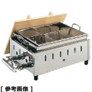 <title>送料無料 TKG 定番スタイル Total Kitchen Goods 18-8湯煎式おでん鍋OY-18 尺8寸 LPガス EOD2110</title>
