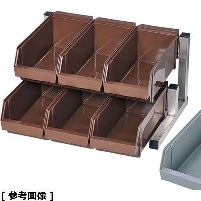 TKG (Total Kitchen Goods) TKG18-8スマートオーガナイザー(2段3列(6ヶ入) グレー) EOC2701