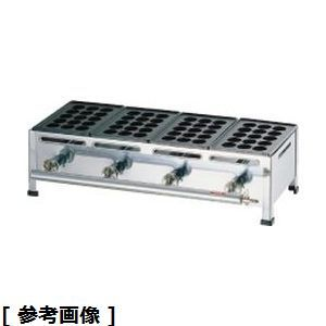 TKG (Total Kitchen Goods) 関西式たこ焼器(15穴)4枚掛(12・13A) GTK228