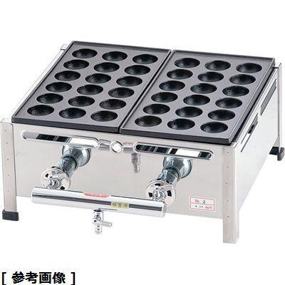 その他 関西式たこ焼器(18穴) GTK7801