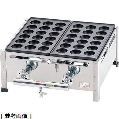 その他 関西式たこ焼器(18穴) GTK7808