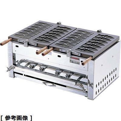 その他 あゆ焼ガス台EGA-2連(14ヶ型) GAY012