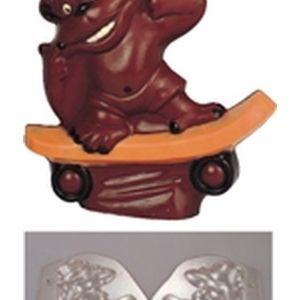その他 デコレリーフチョコレートモルド WTY74