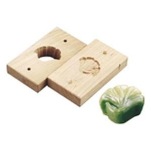 TKG (Total Kitchen Goods) 手彫物相型(上生菓子用)イチョウ WBT26