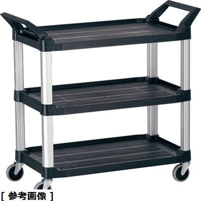 その他 トラストHi5ユーティリティーカート L3段 4021 ブラック HKC9401