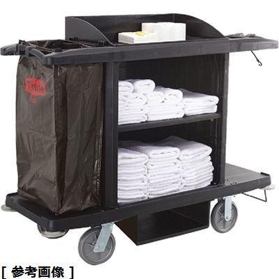 トラスト トラストルームメイキングカート5021(ブラック) KTL7601【納期目安:2週間】