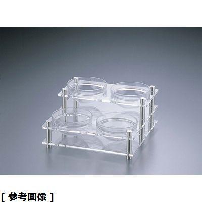 遠藤商事 アクリルコンディメントスタンド(2段4穴 B30-2) NKV1401