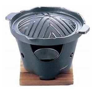 スピード対応 全国送料無料 送料無料 TKG Total Kitchen QGV2401 Goods アルミフッ素加工1人用ジンギス鍋 新作送料無料