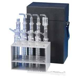 その他 【柴田科学】小型ガス吸収管セット【5本】 080100-3 ds-1751330