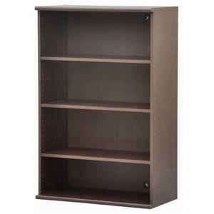 その他 カラーボックス(収納棚/カスタマイズ家具) 4段 【幅78.9cm×高さ120.3cm】 エイ・アイ・エス 『エシカ』 1280 ブラウン ds-1810776