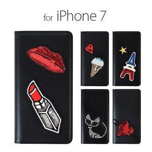 その他 GAZE iPhone7 Spangle エッフェル塔 ds-1823237