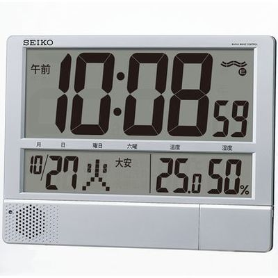 その他 セイコー電波プログラム付掛置兼用時計 ZKL7201【納期目安:1週間】
