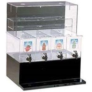 TKG (Total Kitchen Goods) ジャスティNAシロップディスペンサー(4連 L) FSL0501