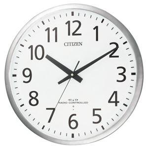 その他 リズム時計 シチズン電波掛時計 8MY463-019 ds-1825551