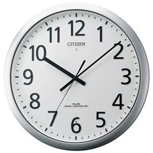 その他 リズム時計 シチズン電波掛時計 8MY484-019 ds-1826413