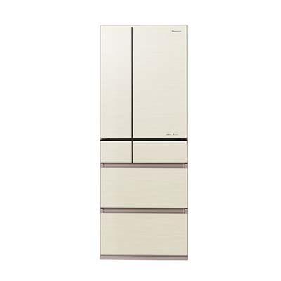 パナソニック フレンチ6ドア パーシャル搭載 冷蔵庫 501L (シャンパンゴールド) (NRF503XPVN) NR-F503XPV-N