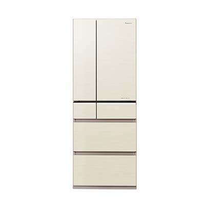 パナソニック フレンチ6ドア パーシャル搭載 冷蔵庫 551L (シャンパンゴールド) (NRF553XPVN) NR-F553XPV-N